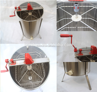 High Quality 4 frames honey extractor from China honey processing plant