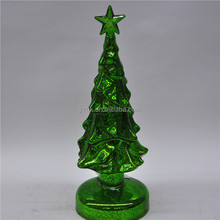 christmas tree ornaments glass decoration with led light