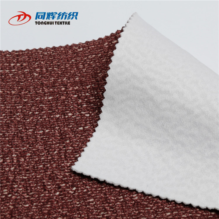 High Quality Red Jacquard Fabric For Cushion
