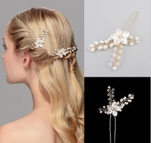 Crystal Bridal Hair Accessories Headpieces Clip Comb Vine wedding chairs for bride and groom bride veil chinese hairpins mother