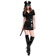 Halloween sexy woman cosplay clothes suit police uniforms costume