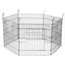 expandable outside large wire mesh dog fence