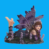custom hand painted sexy small fairy figurine for sale