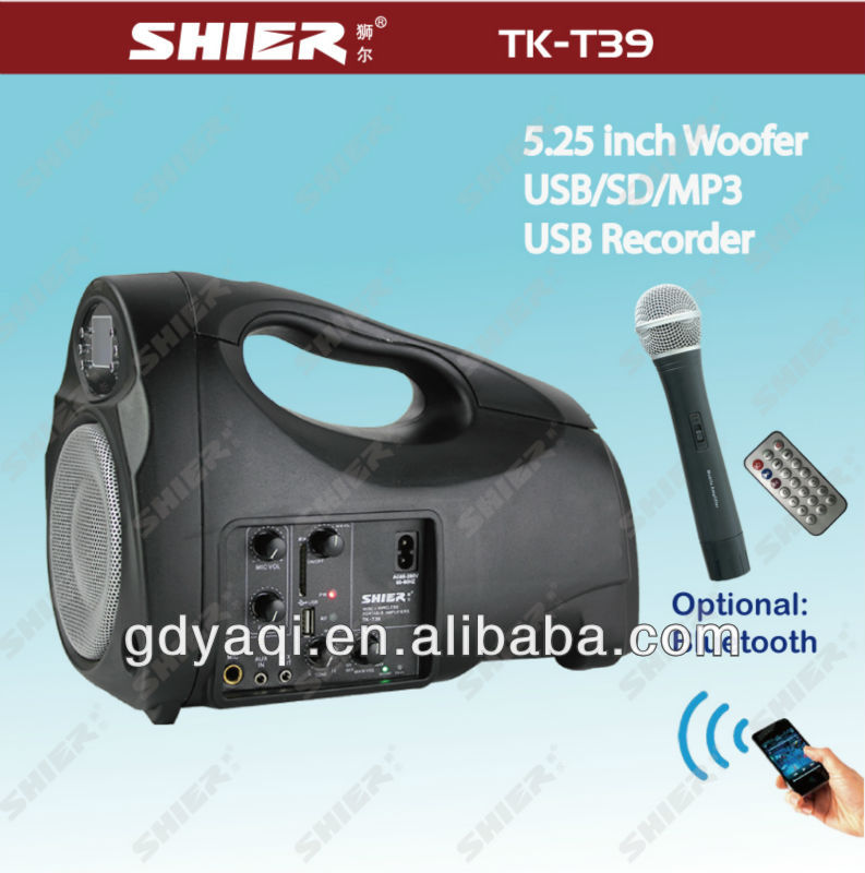 TK-T39 FM manual for mini af mini digital speaker with micro