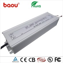 Baou IP67 200W 750ma constant current led driver