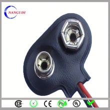 electric toy car 9v battery snap clip connector