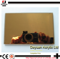 Cheap plastic colored mirror glass sheets