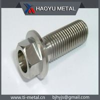 Super qulity anodized titanium bolts for bicycle bike