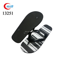 high quality latest design nice grain ladies flip flops