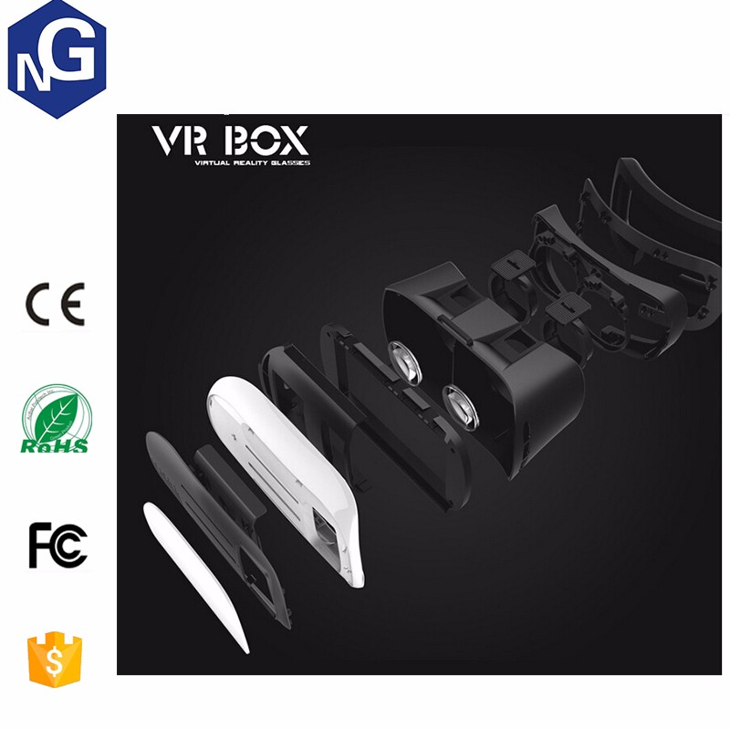 factory supply Attractive open sex 3d glasses virtual reality, vr box 3d glasses Newest 3d vr glasses vrarle