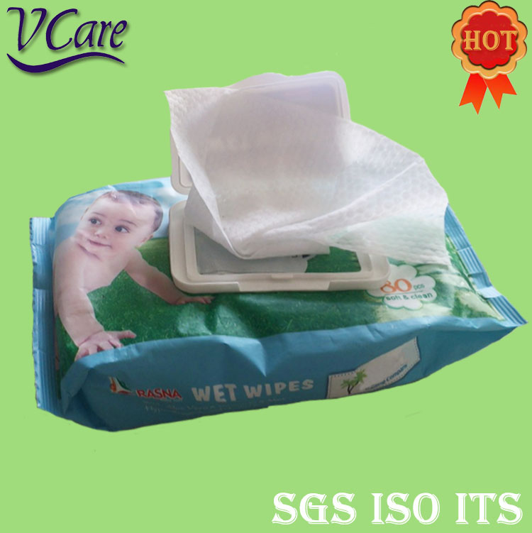 Private Label Free Sample Face Baby Wet Wipes