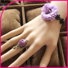 fashion rings with matching bracelets Korean small and pure and fresh ideas purple dream fashion bracelet