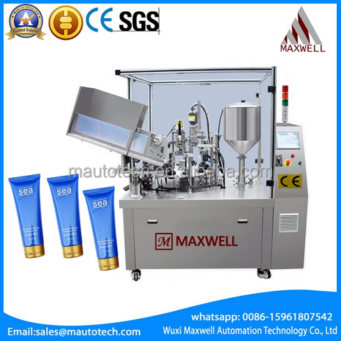 Full Automatic plastic tube filling and sealing machine