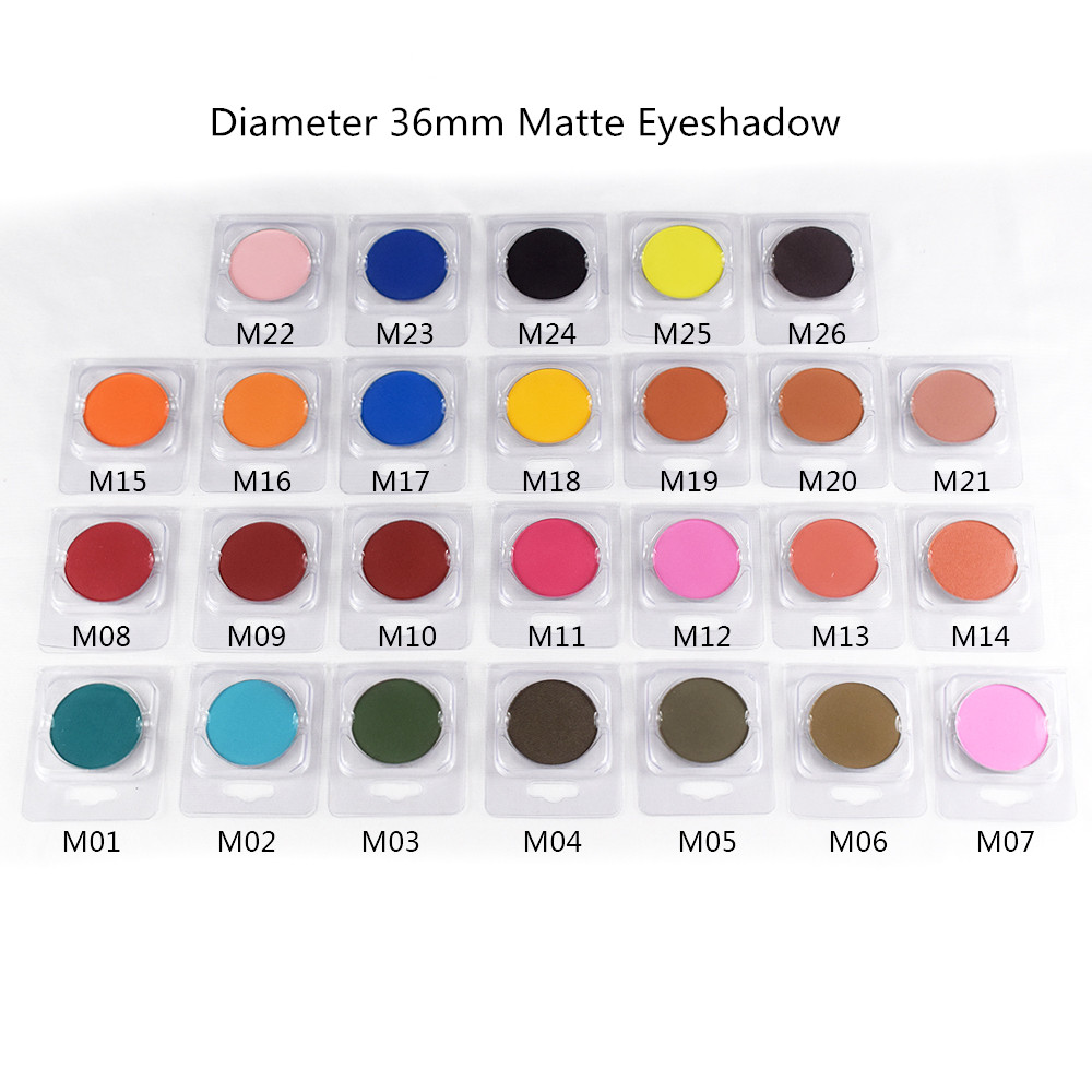 DIY Colors Empty Palette Makeup for <strong>Eyes</strong> Create Your Brand Individual Eyeshadow