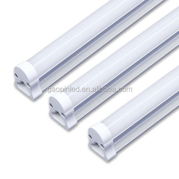 Top grade economic 3 years warranty light t5/t8 integrated led tube light 1200mm