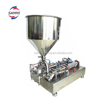 Full Pneumatic Single Head Cream Paste Filling Machine