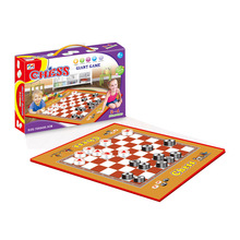Wholesale Chilidren Outdoor Play Plastic Giant Carpet Chess Board Game