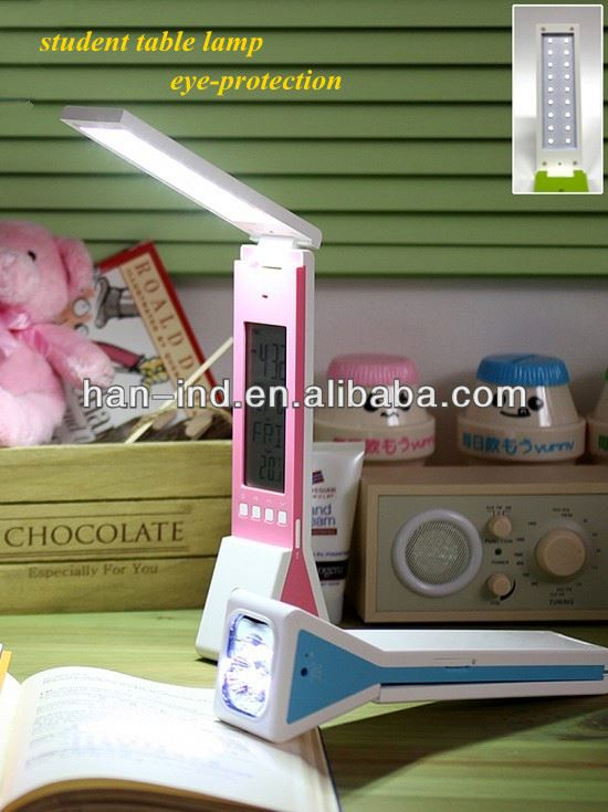 emergency light Rechargeable Folding table Lamp Reading Table Lamp