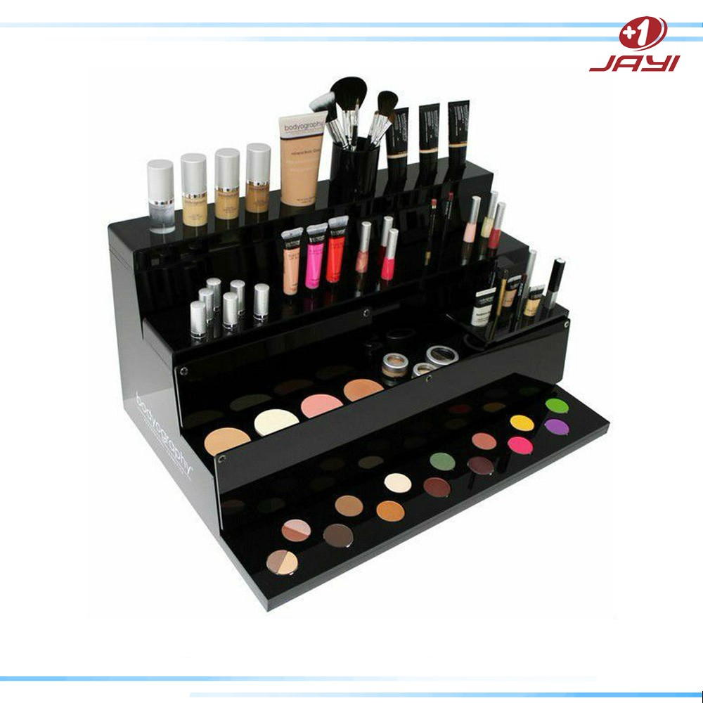 Custom made POP Acrylic Makeup Counter Display / Makeup Display Stand
