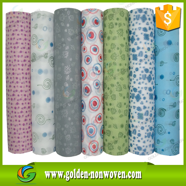 Golden factory supply Polypropylene Eco-friendly Spunbond Nonwoven Fabric for Produce Bag,Table Cloth/pp nonwoven material
