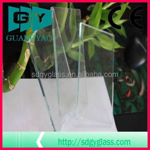 1.5mm clear sheet glass for picture frame glass