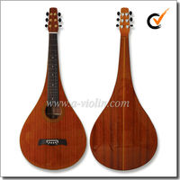 Solid Sapele Chinese Weissenborn Slide Guitar (AW120T)