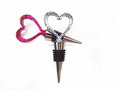 2016 heart shaped red wine stopper