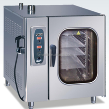 Commercial Combi Steam Oven Electric 10 Trays Combi Oven All 304 Stainless Steel Combi Steamer FMX-WE1028C