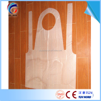 Polyethylene Kitchen Plastic Aprons Disposable HDPE Aprons Bibs