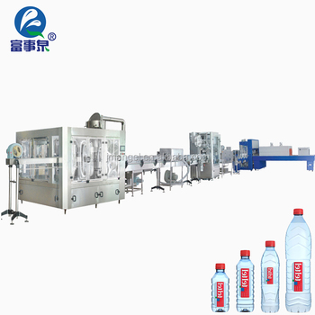 Factory sale automatic cgf18-18-6 6000bph mineral water bottle making machine