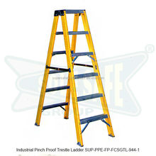 Industrial Pinch Proof Trestle Ladder ( SUP-PPE-FP-FCSGTL-944-1 )