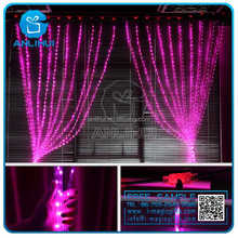 Outop 1000led Window Curtain Copper Wire String Lights String Fairy Light Wedding Party Home Garden Decorations 3m*2m