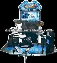 acade amusement music game machine-simulator jazz tomtom music game machine