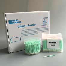 Foam Tipped TX751b Solvent Precision Instrument Cleaning Swabs With Small Pointed Tip