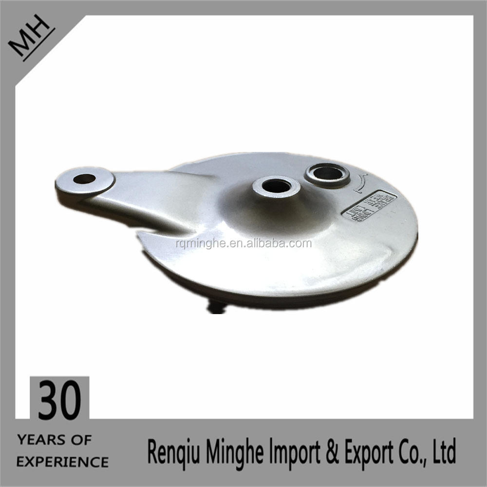 AX100 motorcycle Rear Wheel Hub rear Plate Cover