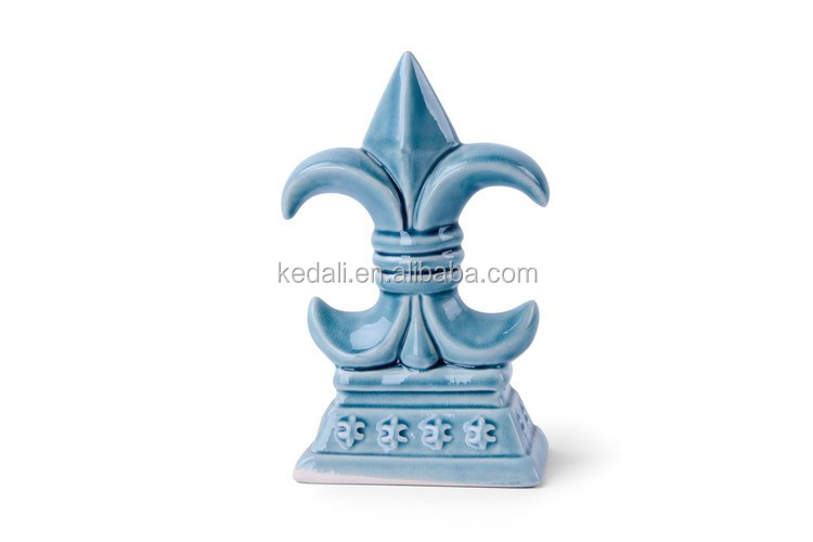 Glazed Galvanized Ceramic Hotel Home Decorative