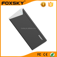 New products 2016 10000mAh electronics CE best quality power bank QC 2.0
