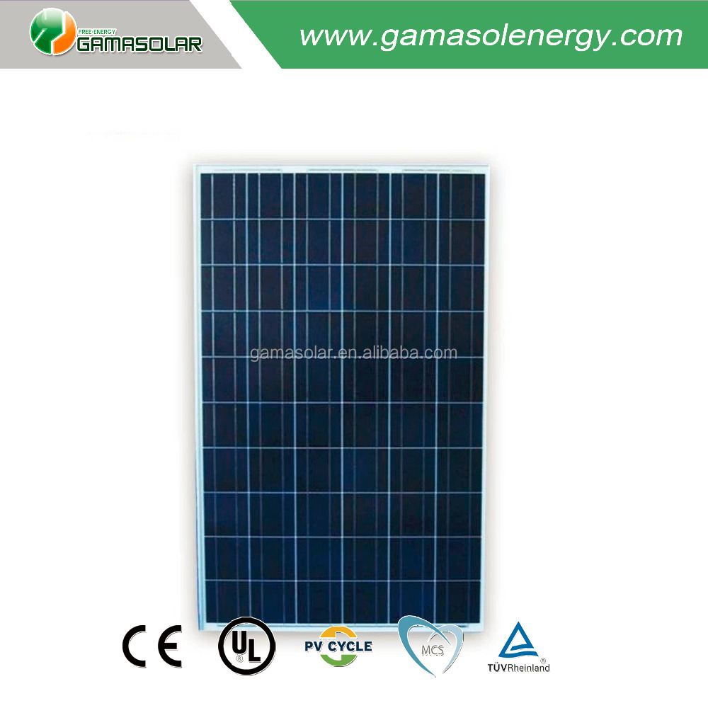 china solar panels cost 250 watt 24v poly solar pv modules with A Grade cell