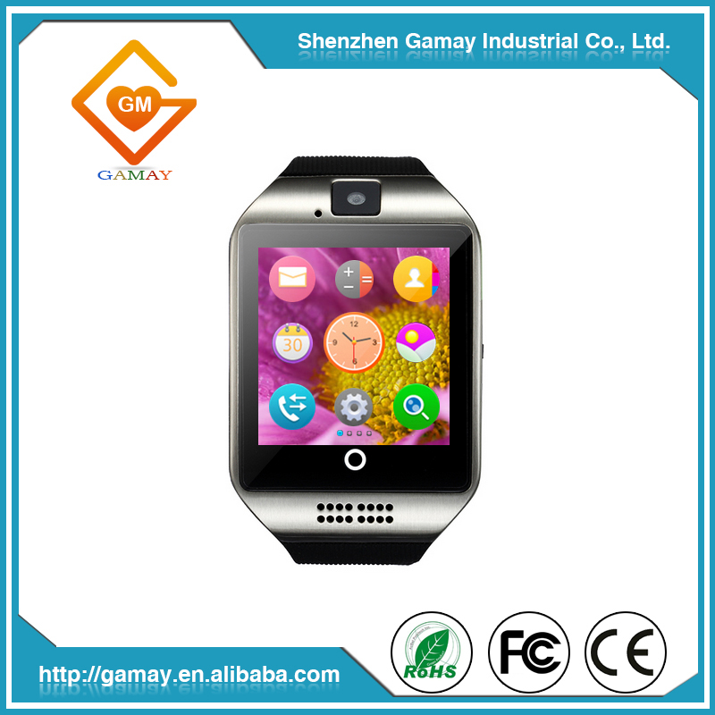 Hot Selling Bluetooth IOS Q18 Mobile Watch Phones Smart with SIM Card And Camera