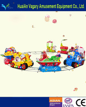 Amusement Park Fun Electric Track Kids Cartoon Train, Electric Toy Train, Kids Electric Toy Train