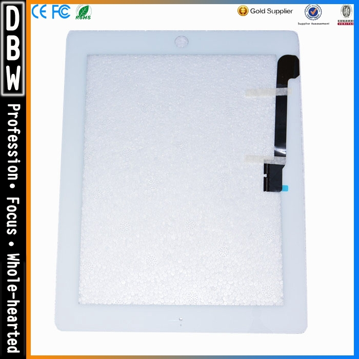 Top quality for ipad 4 touch screen digitizer glass with factory price