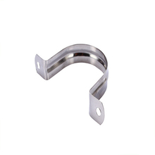 Stainless steel custom stamping saddle clamp