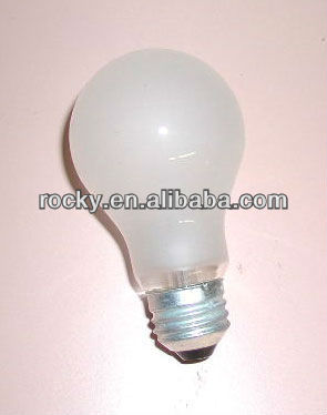 B22 E27 40W 60W 75W 100w clear frosted incandescent bulb lighting