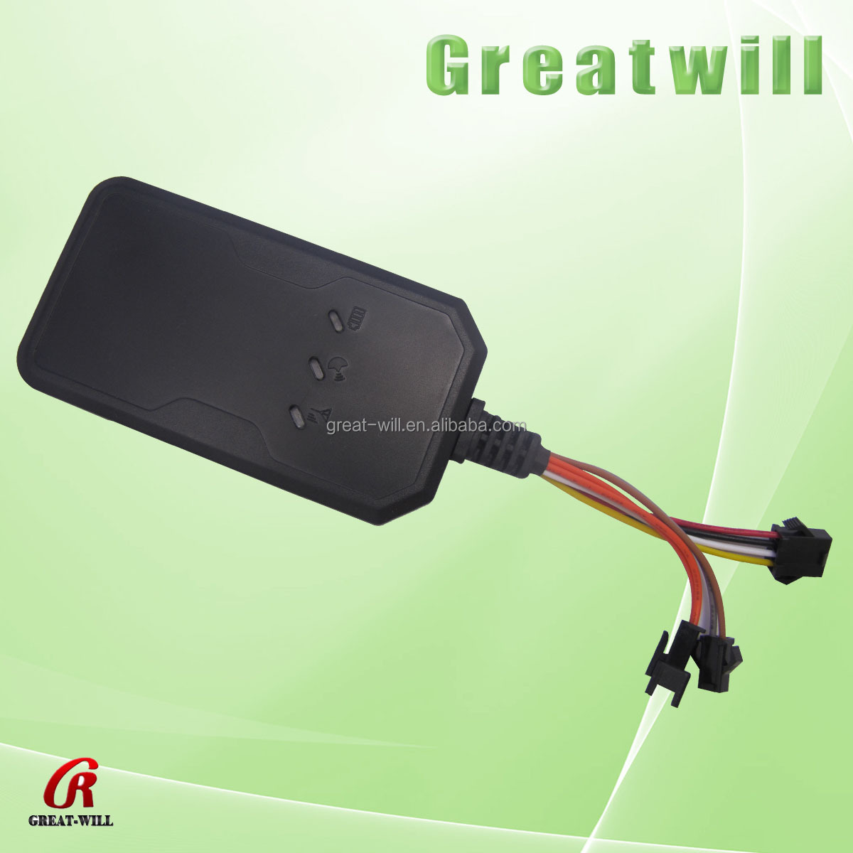 gps tracker connected to vehicle battery gsm gprs cdma