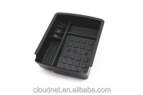 Interior Armrest Storage Tray For VW Volkswagen Golf MK7