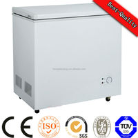 12v/24v Manual Defrost Type and Double Door DC solar freezer