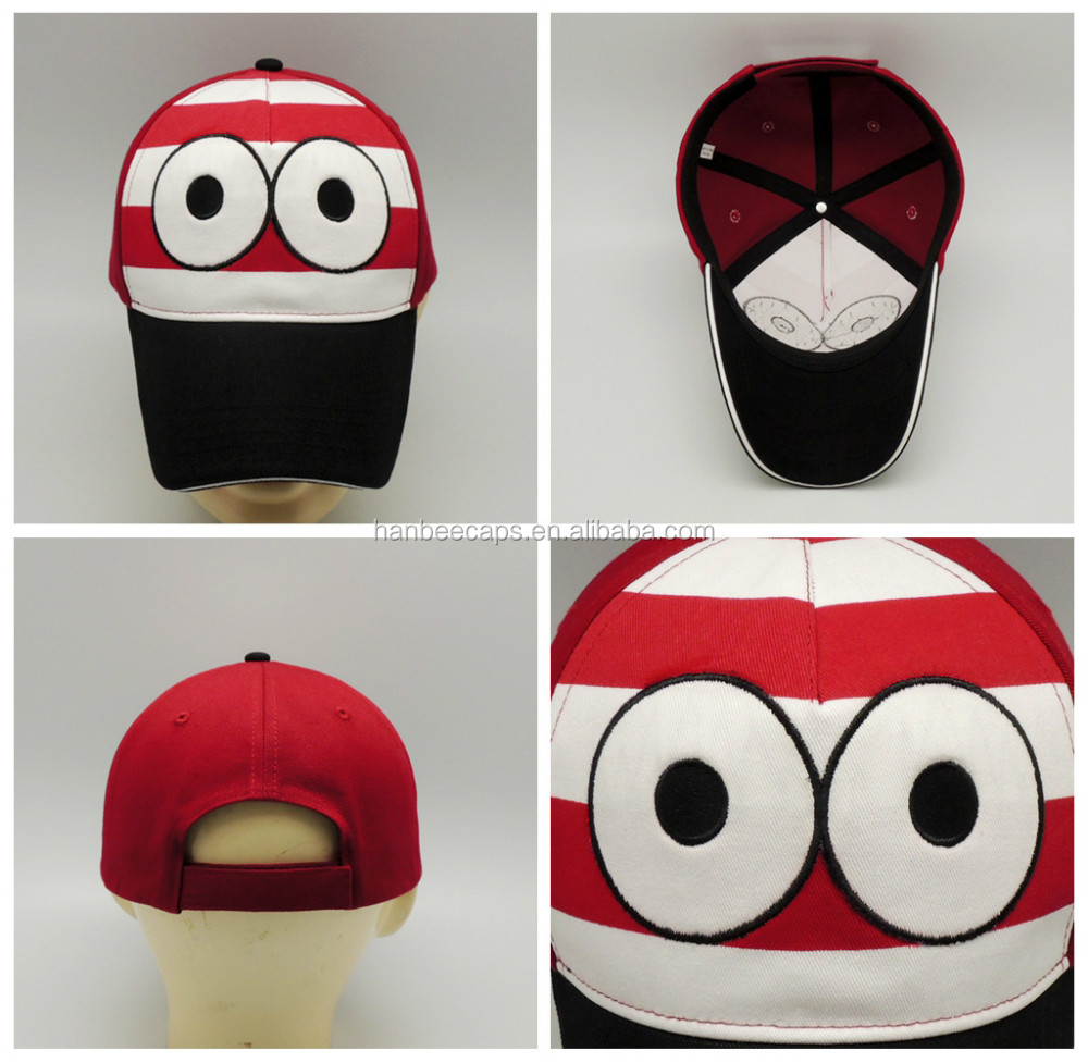 cotton twill fashion custom designed baseball sports caps