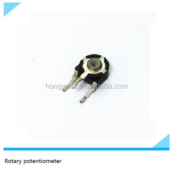 H6 Preset trimmer rotary potentiometer with insulated shaft