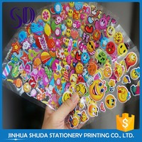 Competitive Price Wholesale Different Shape Plastic Smiley Face Sticker