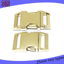 wholesale metal side release strap buckle,strap with buckle manufacture for bags,strap buckle
